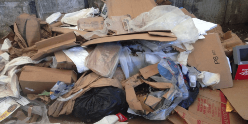 Corralling Cardboard Contamination – Teton Valley Community